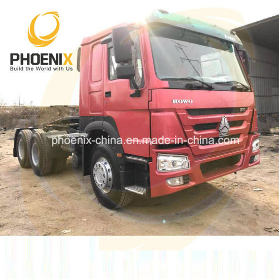Hot Sale 371HP 6X4 Sinotruk 10wheels Used HOWO Horse Tractor Head with Competitive Price for Africa Marketing