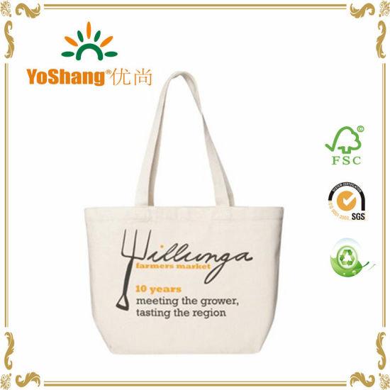 Reusable Promotional Bags Shopping Canvas Bag