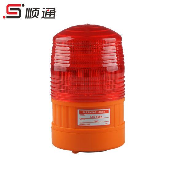 Lte-5088 Amber Mini Flashing LED Rotating Strobe Lights