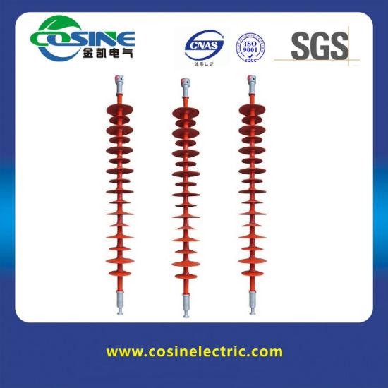 220kv 160kn Composite/ Silicone Rubber Suspension Insulator