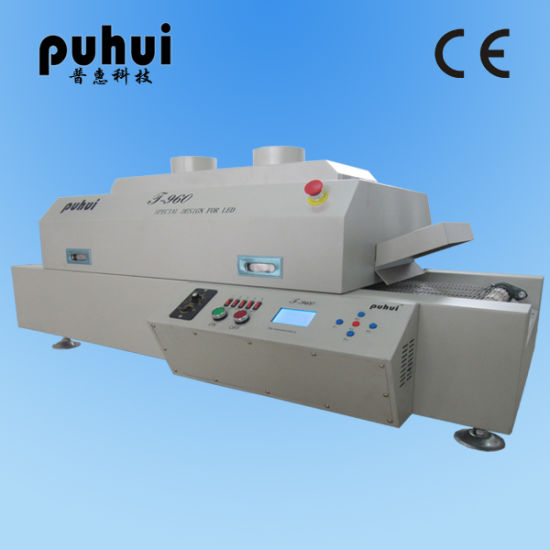 T-960 Infrared Reflow Oven, SMD LED Reflow Soldering Machine T-960, Mini Wave Solder Oven, Taian Puhui China Manufacturer pictures & photos