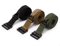 Tactical Army Military Outdoor Sports Belt Metal Belt Canvas Belt