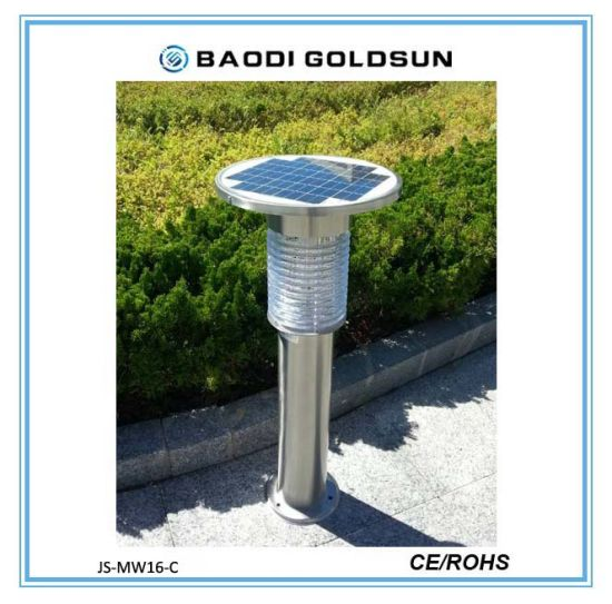 Solar Powered High Efficiency LED Rechargeable Mosquito Killer Lamp in Garden Factory Price for Africa pictures & photos