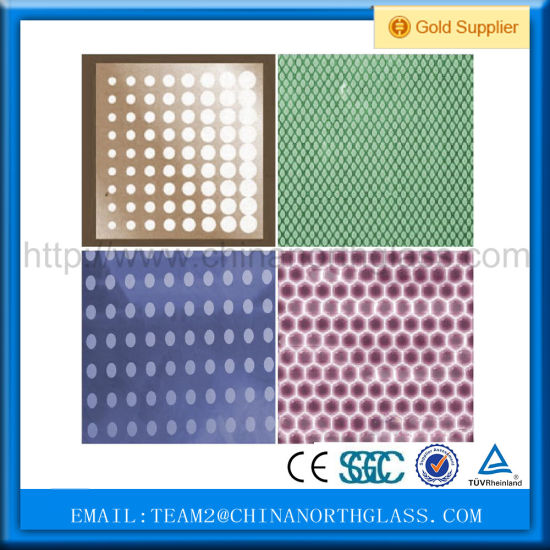 Laminated Glass with Ceramic Dots pictures & photos
