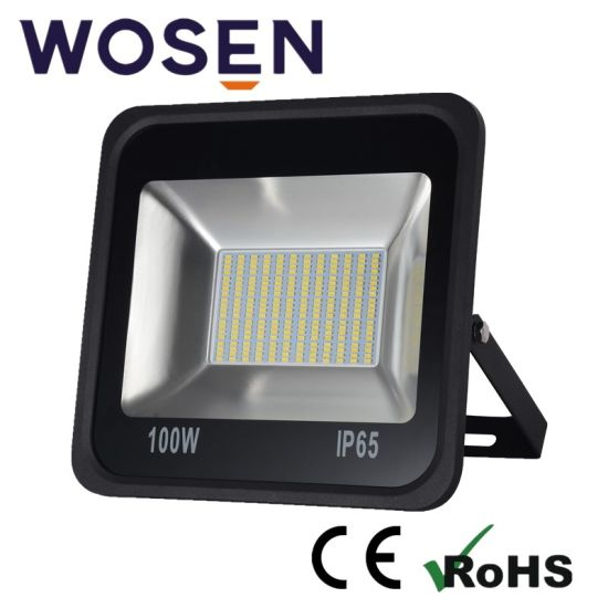 100W 24V SMD Refond Lm80 LED Square Outdoor Flood Light for Outdoor Fixture