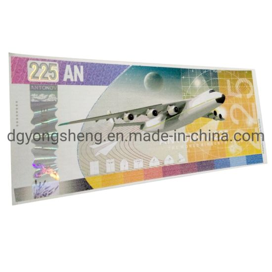 High Quality Discount Paper Ticket Security Printing