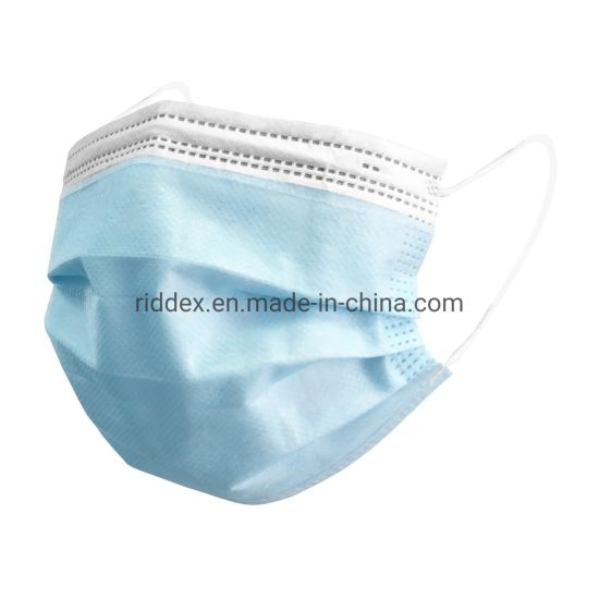 Manufacturer Disposable Protective Earloop 3ply Anti-Virus Face Mask
