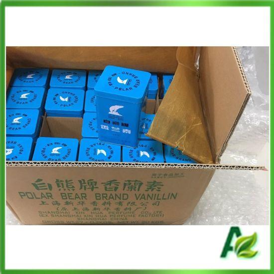 Polar Bear Flavoring Vanillin with Plant/Factory Price, CAS 121-33-5