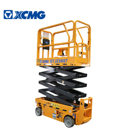 XCMG Gtjz0607 Mobile Scissor Lift Platform Price Table China for Sale