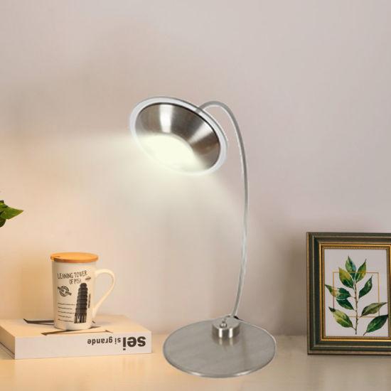 New Design Black Reading Light Study Lighting Modern LED Desk Lamp Living Room Hotel Customized Table Lamp