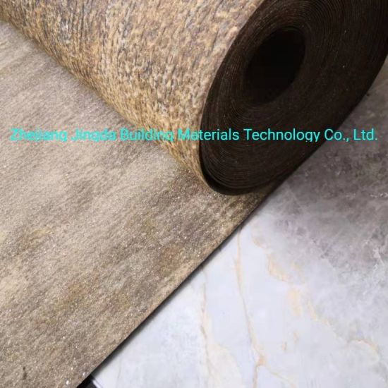 China Roofing Felt Waterproof Bitumen Felt Bitumen Roofing Underlay Felt Asphalt Saturated Roof Felt Underlayment China Roof Felt Membrane