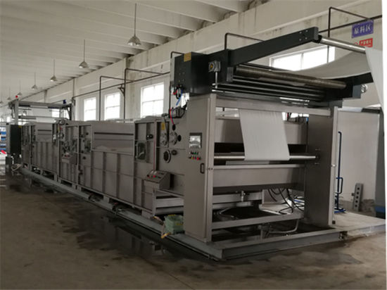 Open Width Oil-Removal Washing Machine for Knitting Fabric