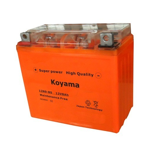 12V 9ah Lead Acid Battery Flooded Battery Motorcycle Battery 12n9-BS-Mf pictures & photos