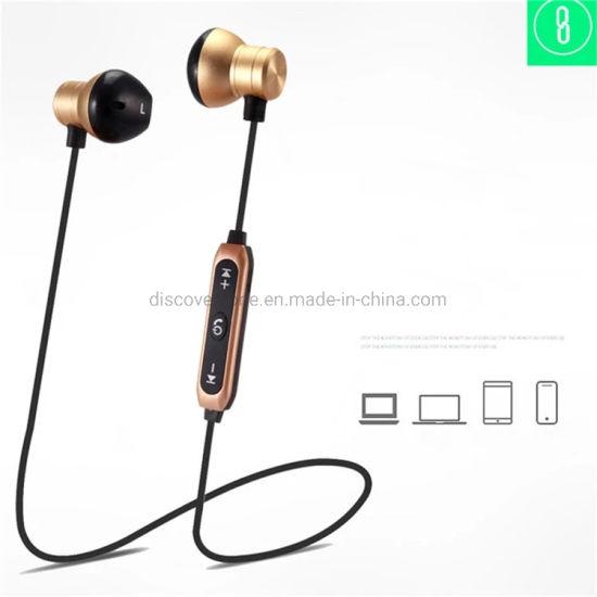 China M17 Sport Bluetooth Headset Wireless Stereo Music Bluetooth Neck Band Handsfree Earphone For Samsung China Bluetooth Headset And Headphone Price