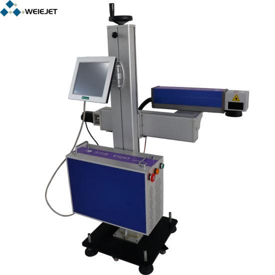 Factory Price Fiber Laser Marking Machine on-Line Laser Coding Machine Continuous Fiber Laser Engraving Machine for Aluminum Beverage Can/Aluminum Biscuits Box