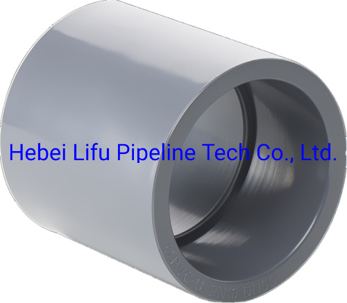 High Quality Plastic UPVC Pressure Coupling Pipe Fitting for Industry ASTM Sch80 pictures & photos