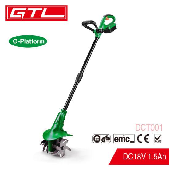 18V Electric Lithium Corldess Tiller Garden Tools Lithium Cordless Cultivator Tiller, Power Tools Garden Tool 1840V Cordless Tiller