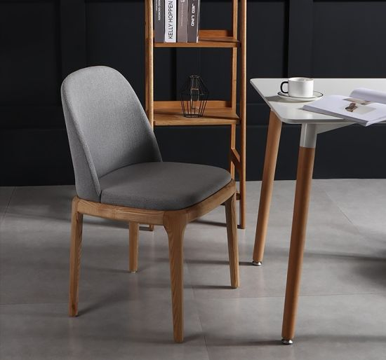 Pleasing Promotion Items Ash Solid Wood Fabric Leather Dining Chair Short Lead Time Beatyapartments Chair Design Images Beatyapartmentscom