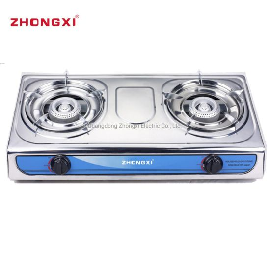 Good Sale Tabletop Stainless Steel Gas Stove [Jz-RS223]