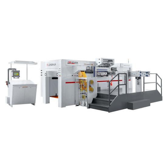 High-End Automatic Paper Sheet Feeding Hot Foil and Die Cutting Machine Lh1050fh Die Cutting Machine