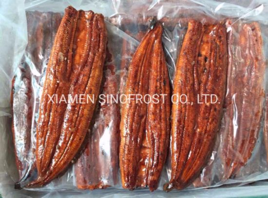 Competitive Prices, ISO/HACCP/Halal Certified, Unagi Kabayaki, Frozen Roasted Eel, Frozen Prepared Eel, Frozen Broiled Eel, Sushi Slices/Cuts/Flakes pictures & photos