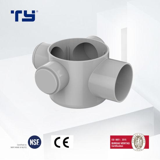 PVC-U Plastic Drainage Waste Pipe Tube Fittings Floor Drain BS GB/T 5836.1 Lesson Dosen Tianyan OEM