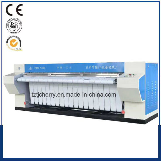 Ypa Series Single/Double Roller Industrial Ironing Machine 1200mm to 3000mm Flatwork Ironer