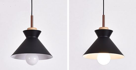 Nordic Style Creative Cup Shape Pendant Lamp with Postmodern Color