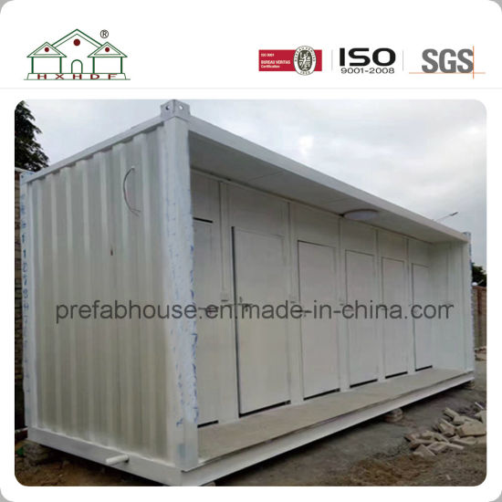 Prefabricated Modular Building House Container House as Portable Public Toilet