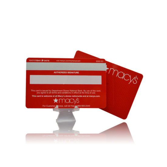 RFID UHF Blank Card for Inventory Control