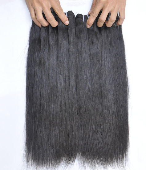 "Peruvian Virgin Hair Extensions Straight 28"" Hair Extentions pictures & photos"