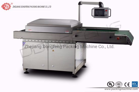 Automatic Vacuum Chamber Belt Machine (DZQ-800C) pictures & photos