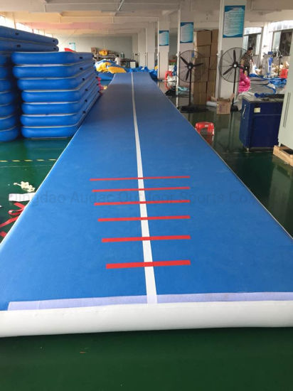 3 M X 2 M X 0.3 M Outdoor Gymnastic Inflatable Tumbling Mattress Gym Mat Air Trick/ Airtrack