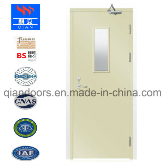 Steel Primary-Secondary Door with Glass Panel pictures & photos