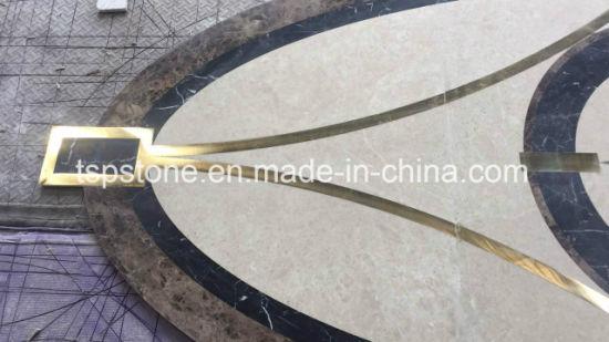 China Customized Granite Stone Waterjet Mosaic Patternmosaic Border