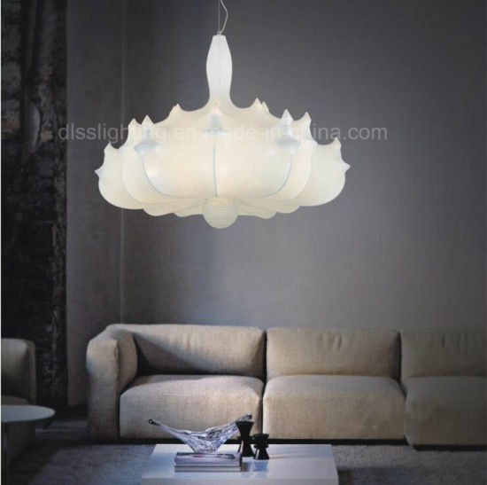 Creative Italy Style Silk Haning Lighting Airship Pendant Light for Project