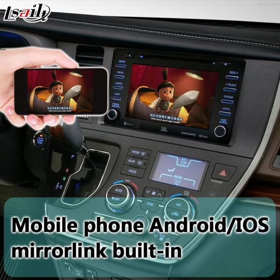 China Android 6 0 Car Gps Navigator For Sienna Support Reverse Camera Wifi App Google Play Mirrorlink China Gps Navigator Car Gps Navigation