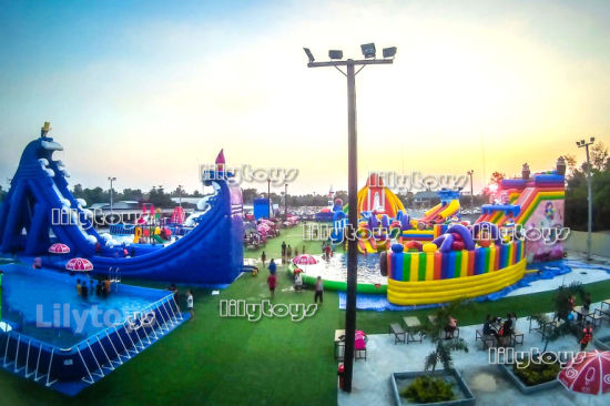 Kids N Adult Large Commercial Mobile Water Amusement Park pictures & photos