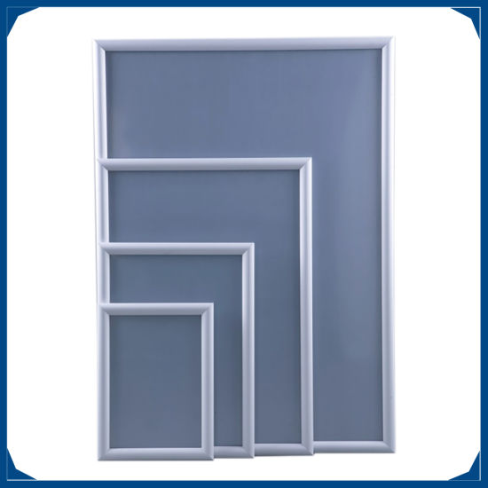 China Aluminum Silver Snap Frames in Custom Sizes - China Aluminum ...