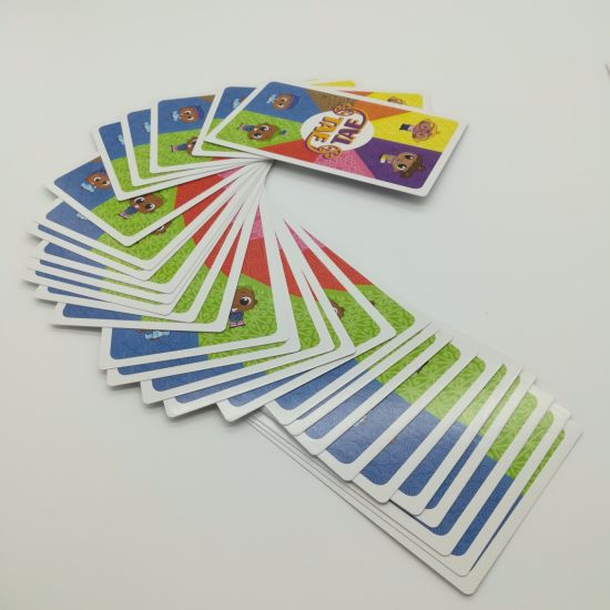 New Arrival Learn Words and Pictuer Printed Paper Cards with Tuck Box Yh355 pictures & photos