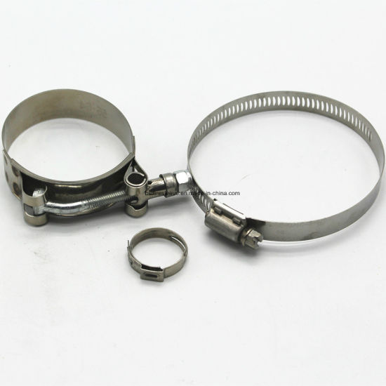 Locking Stainless Steel Zip Ties for Exhaust Header Pipe Wrap pictures & photos