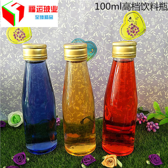 Hot Chilli Sauce Soy Sauce Vinegar Glass Bottle with Plastic Lid
