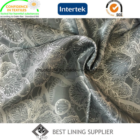 New Men's Suit T/R Jacquard Lining Fabric China Manufacturer