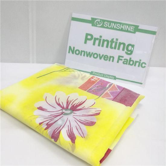 High Quality Colorful Spunbond Non Woven Cloth (sunshine)