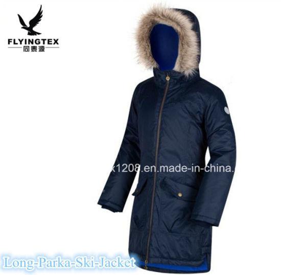 China Oline Wholesale Women/Lady/Ladies Fashion Winter Cotton Long Coat