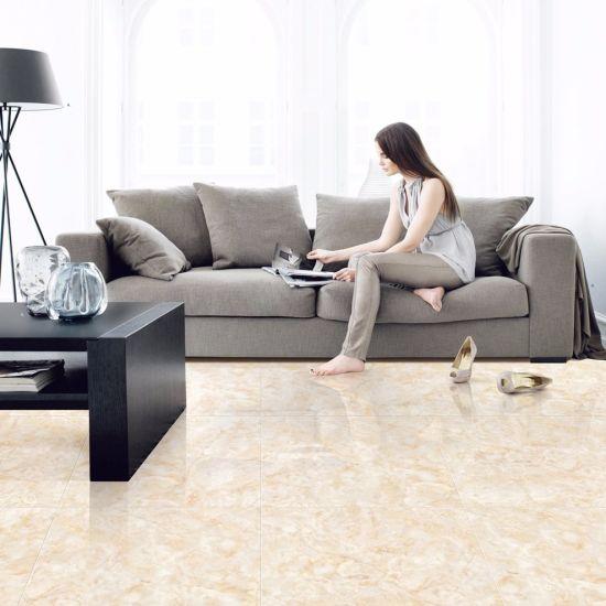 Attirant 3D Inkjet Glazed Polished Porcelain Floor Tile For Living Room