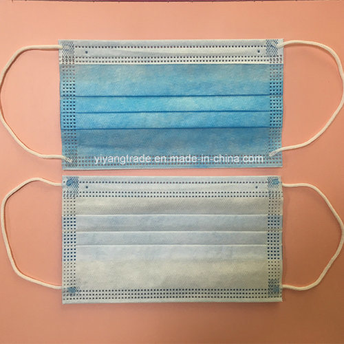 Disposable Nonwoven Ce Bfe95 3ply Medical Surgeon Mask