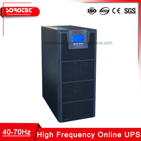 10kVA High Frequency Online Uninterupted Power Supply with LCD Display pictures & photos