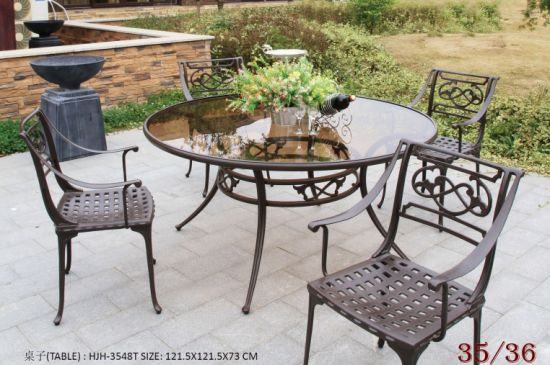 Outdoor Furniture Outdoor Dining Table Patio Furniture Garden Dining Table pictures & photos