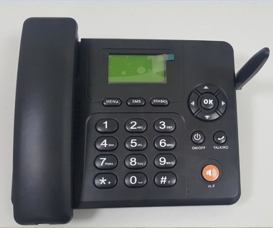 466634312 2g or 3G Dual SIM GSM Cordless Desktop Phone with FM Radio pictures   photos